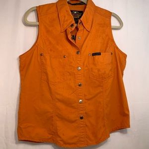 Harley Davidson's women's sleeveless summer shirt